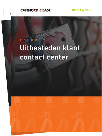 Brochure Uitbesteden klant contact center